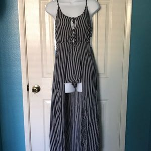 Firm on price... Romper with long skirt size M